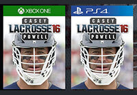 Casey Powell Lacrosse '16 video games