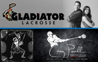 The Casey Powell Signature Collection available at Gladiator Lacrosse
